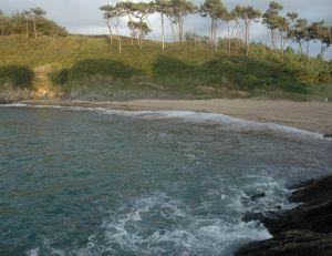 N'oubliez pas les plages entre les rochers