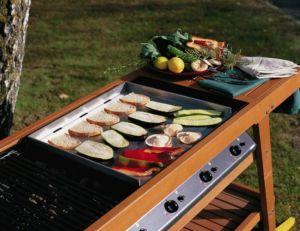 Barbecue et plancha © Castorama