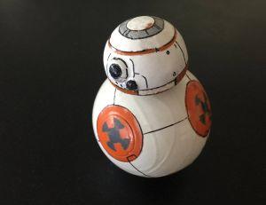 BB-8, la nouvelle mascotte de Star Wars VII - © Christian Poulsen