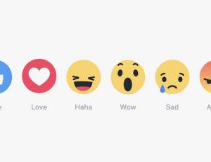 5 nouveaux boutons viennent grossir les possibilités d'interaction, sur Facebook