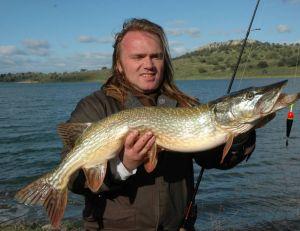 La pêche du brochet au vif