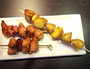 Recette des brochettes de canard poulet au sésame