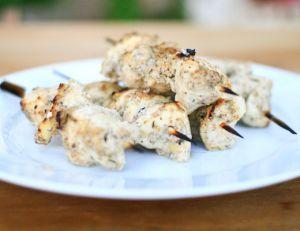 Recette des brochettes de poulet libanaises