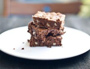 Recette des brownies au chocolat et aux noix