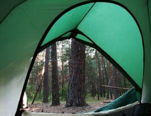 Pratique du camping en pleine nature