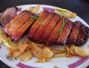 Canard laqué au miel (www.supertoinette.com)