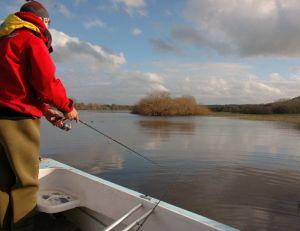 Le pêcheur ramène en général canne basse