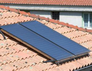 Capteur solaire : générateur électrique