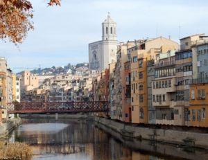 Rives de Gérone en Catalogne