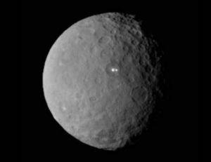 Visuel de Ceres diffusé par la NASA - copyright NASA