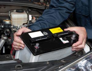 Changer une batterie de voiture