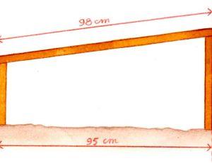 Dimensions du châssis, vue de côté