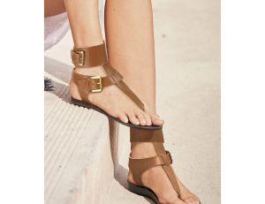 Sandales marrons