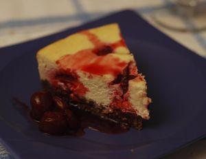 cheese cake aux cerises