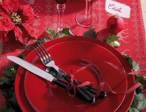 Chemin de table pour Noël - © Truffaut