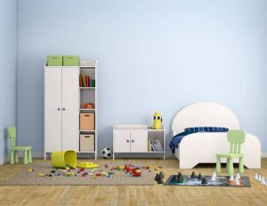 Choisir des meubles de rangement adaptés à une chambre d'enfant / iStock - hkeita