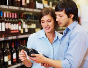 Choisir un vin au supermarché