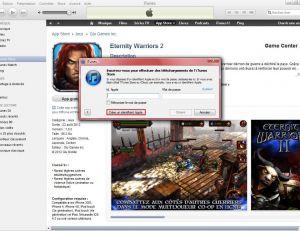 """Cliquer sur """"Créer un identifiant Apple"""""""