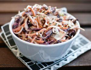 Le coleslaw ou salade de chou
