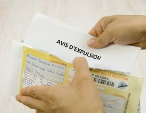 Le déroulement d'une procédure d'expulsion est très encadré.