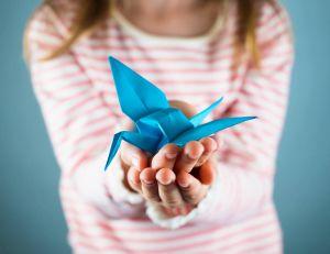 Comment occuper vos enfants grâce à du papier et une paire de ciseaux : l'origami pour les nuls
