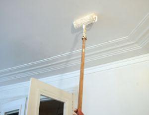 Peindre un plafond - Peinture a l huile pour plafond ...