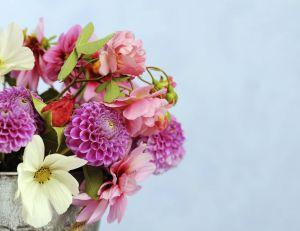 Composition florale à faire chez soi !