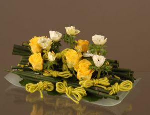 Composition florale © Emilia Oliverio