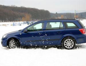 Conduire sur la neige
