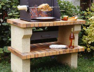 Construire un barbecue de jardin - Construire un coffre de jardin ...