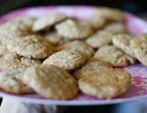 Cookies à la confiture de lait et aux noix