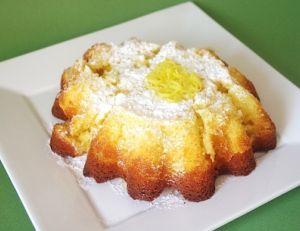 Crazy lemon cake