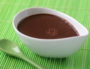 Recette de la crème fondante au chocolat