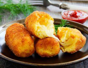 Recette des croquettes de pommes de terre