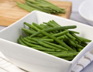 Cuire des haricots verts
