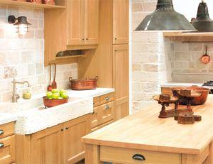 photo comment decorer une cuisine rustique