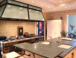 Ilot central © Cuisine Toque et Piano
