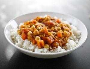 Un curry végétarien