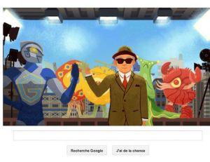 À l'occasion des 114 ans de la naissance d'Eiji Tsuburaya, Google y va de son doodle-hommage... - copyright Google