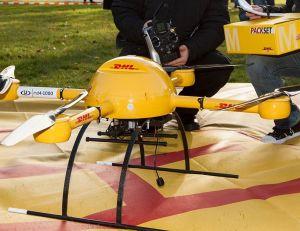 Aperçu d'un drone de livraison DHL -©creative commons/ Frankhoffner