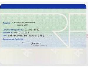 Durée de validité d'une carte d'identité