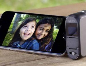 Le DxO One se présente comme un capteur reflex à connecter à l'iPhone ou à l'iPad