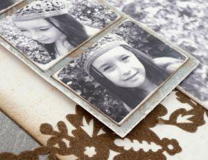 Encrer les bords pour vieillir une photo