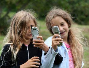 Les enfants et les téléphones portables