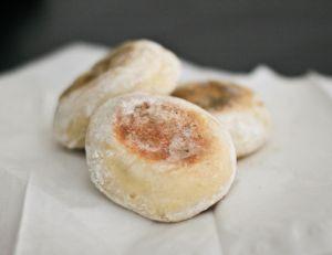 Préparez des english muffins