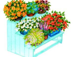 Réaliser une étagère à pots
