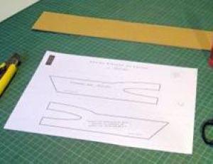 Fabriquer un gabarit pour un meuble en carton