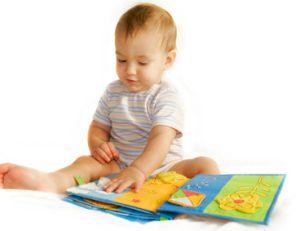 Livre de textures pour bébé