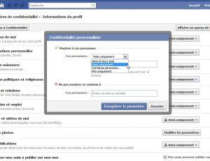 Contrôler son profil sur Facebook