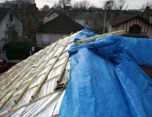 Faire l'isolation d'une toiture par l'extérieur